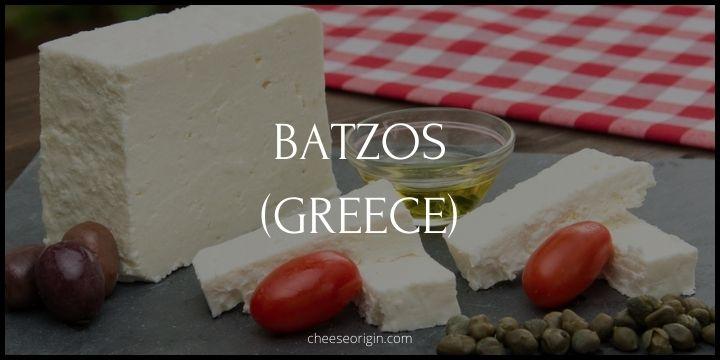 Batzos (GREECE) - Cheese Origin