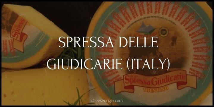 Spressa delle Giudicarie (ITALY) - Cheese Origin
